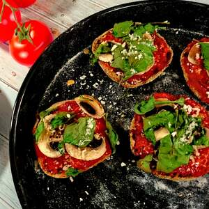 Schnelle Pizza-Toasties
