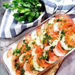 Tomaten-Rettich-Carpaccio