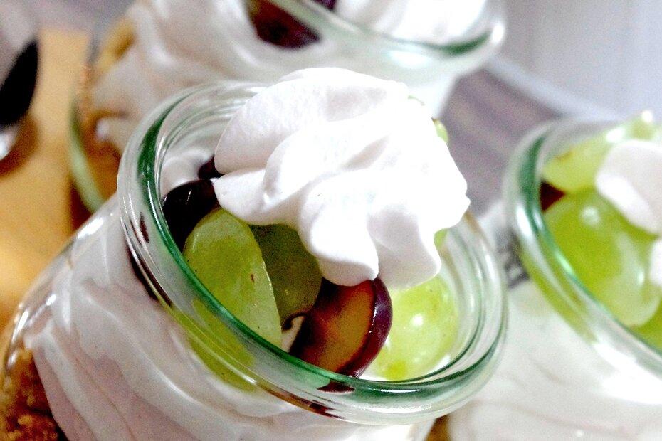 Cookie & Cream Dessert, Cookies & Cream im Weckglas