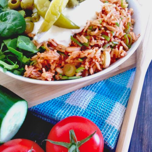 Griechisch inspirierte Salatbowl