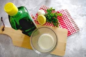 Zubereitung von veganer Aioli