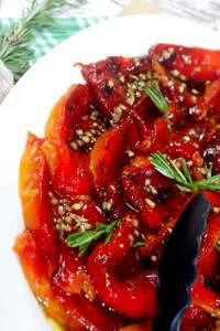 Gegrillte Paprika, Antipasti