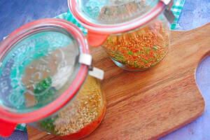 Zubereitung von 5-Minuten Tomaten-Couscous