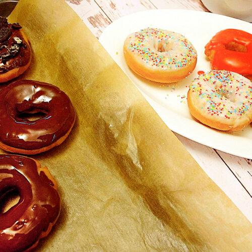Vegane Donuts - Bunt :o)