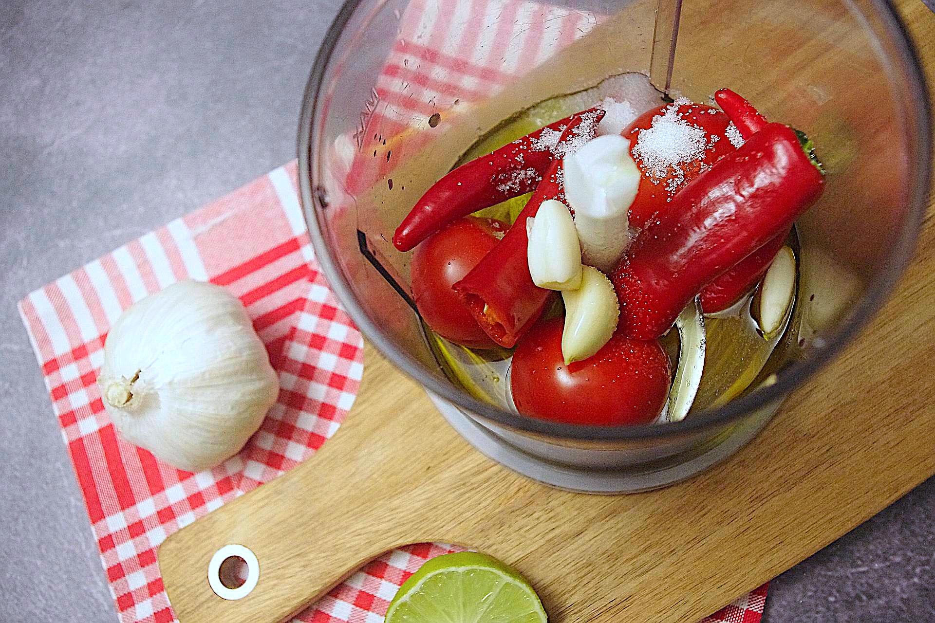 Zubereitung von Mojo Rojo
