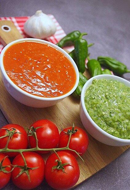 Mojo Rojo & Mojo verde