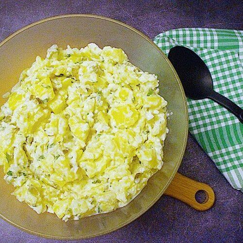 Einfacher Kartoffelsalat