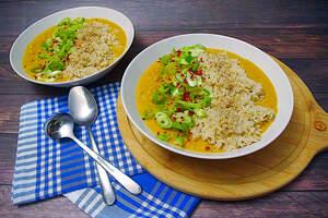 Cremiges Kichererbsen-Curry