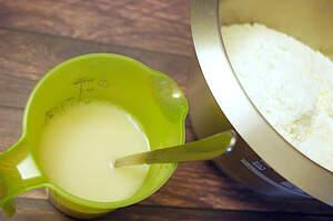 Zubereitung von Dinkel-Simit