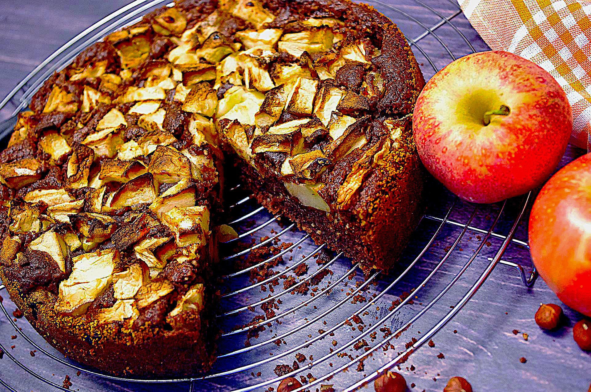 Russischer Apfelkuchen