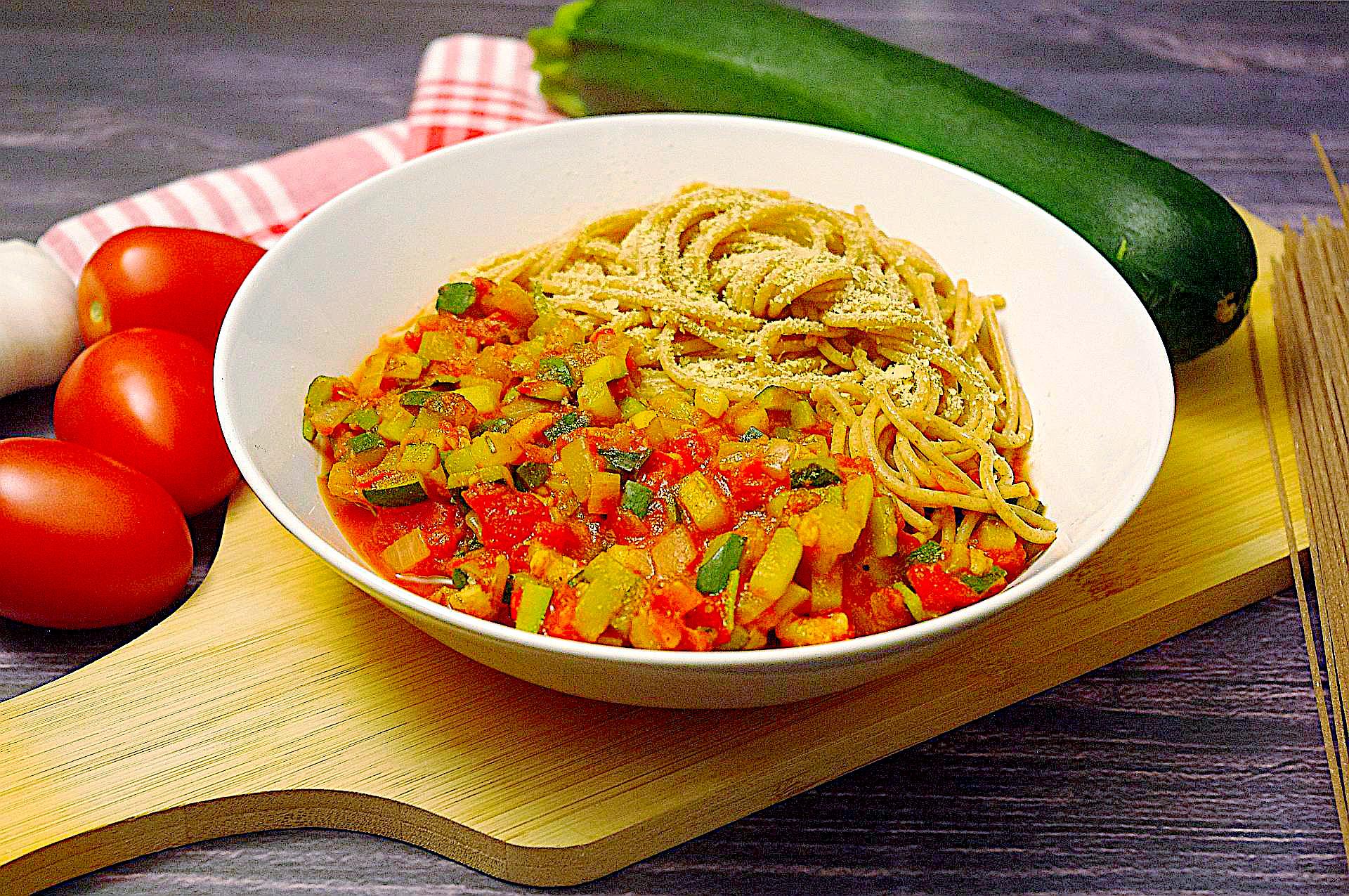 Schnelles Zucchini-Ragout
