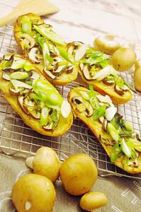 Pizzabaguettes Funghi (Vegan)