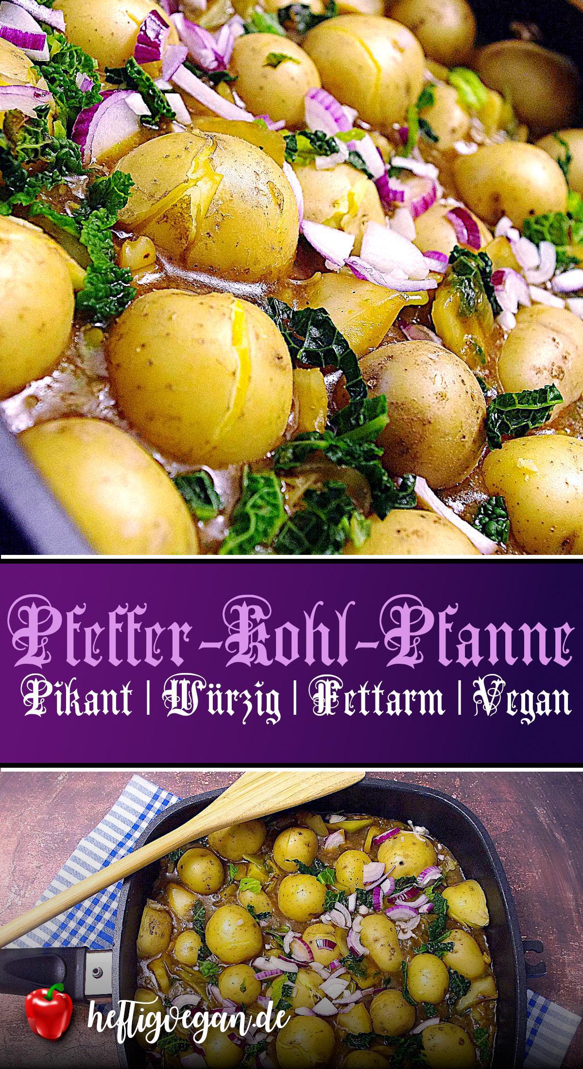 Pfeffer-Kohl-Pfanne auf Pinterest