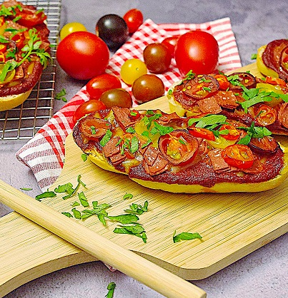 Pizzabaguettes Salame e Pomodori (Vorschau)