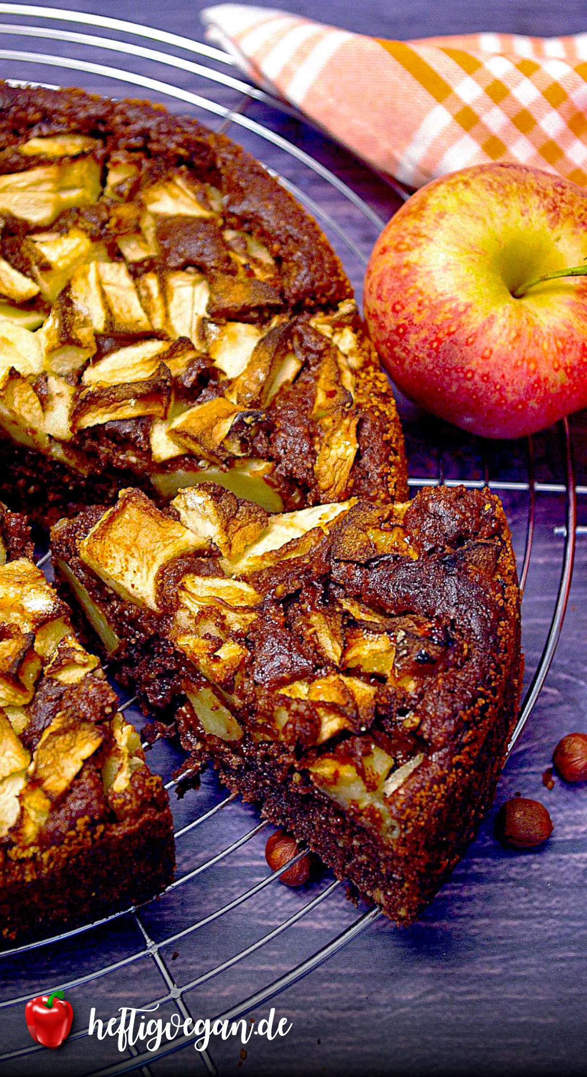 Russischer Apfelkuchen auf Pinterest
