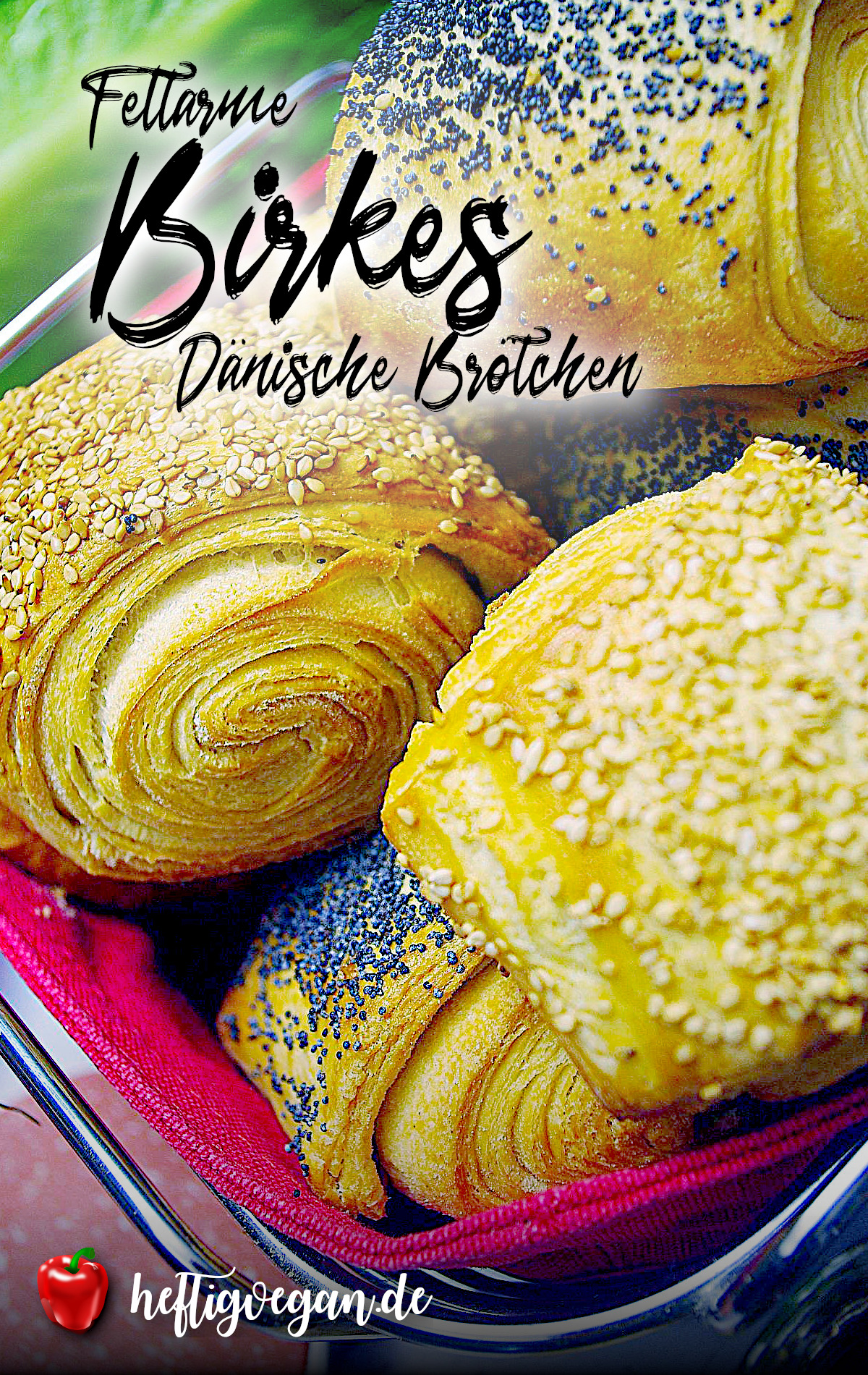 Birkes (Dänische Blätterteigbrötchen) auf Pinterest