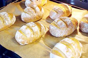 Zubereitung von luftigen Dinkelkrusten