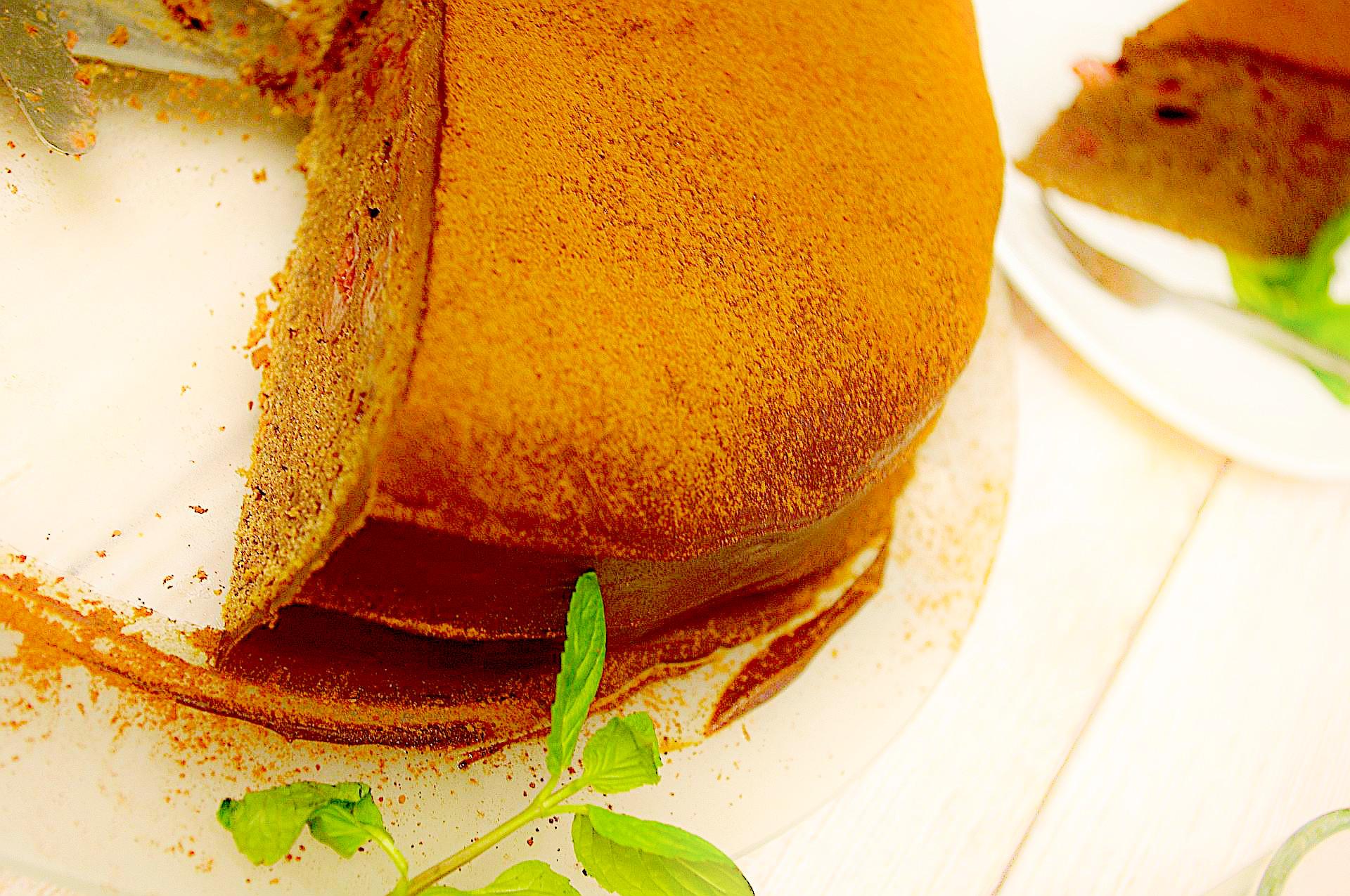 Saftiger Schoko-Kirschkuchen