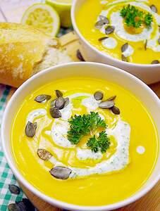 Kartoffel-Kürbiscreme-Suppe (Vorschau)