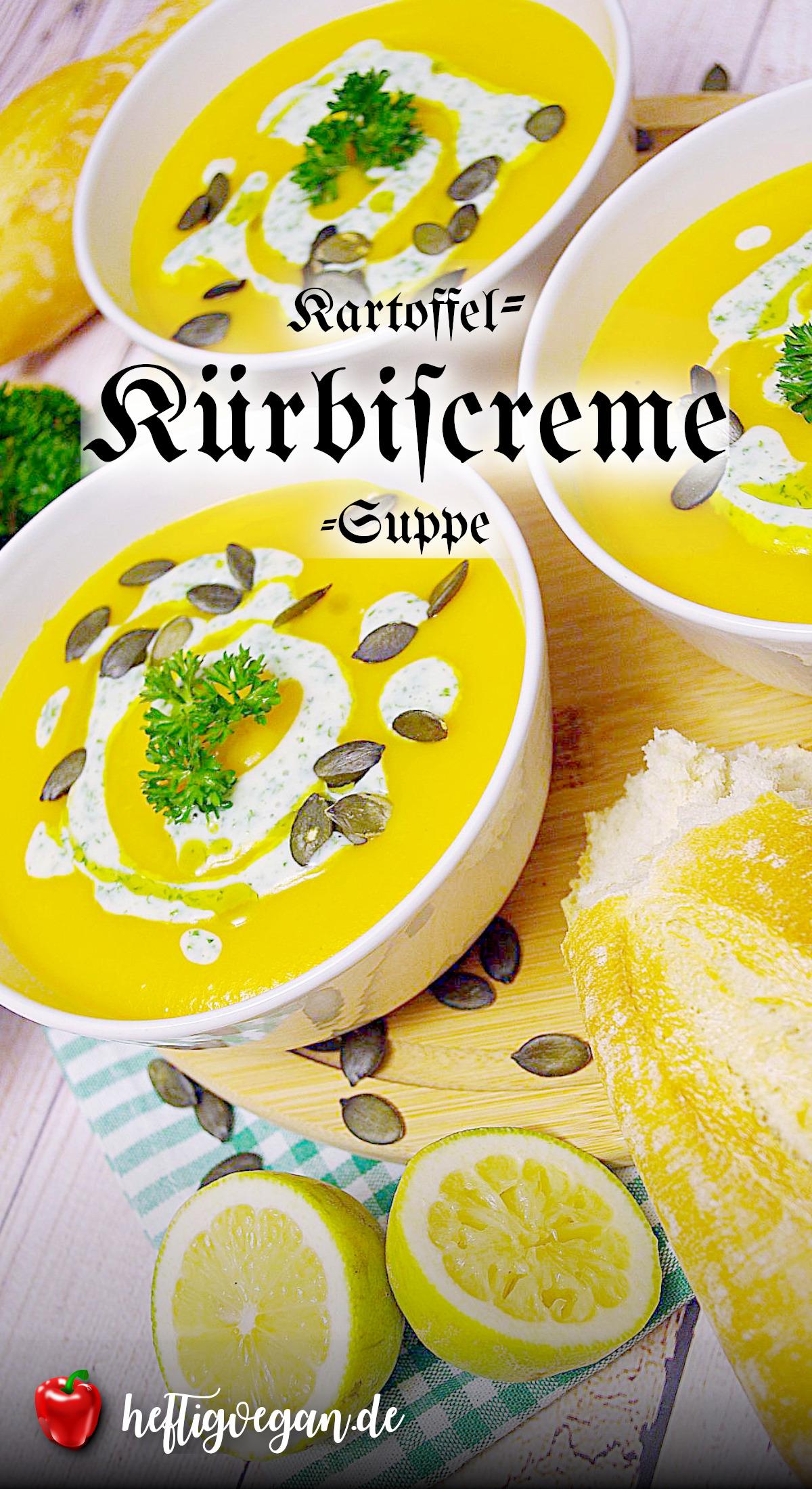 Kartoffel-Kürbiscreme-Suppe auf Pinterest