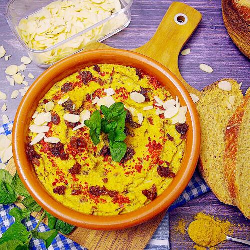 Rosinen-Curry-Aufstrich