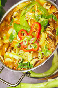 Laksa (Malaysische Chili-Suppe)