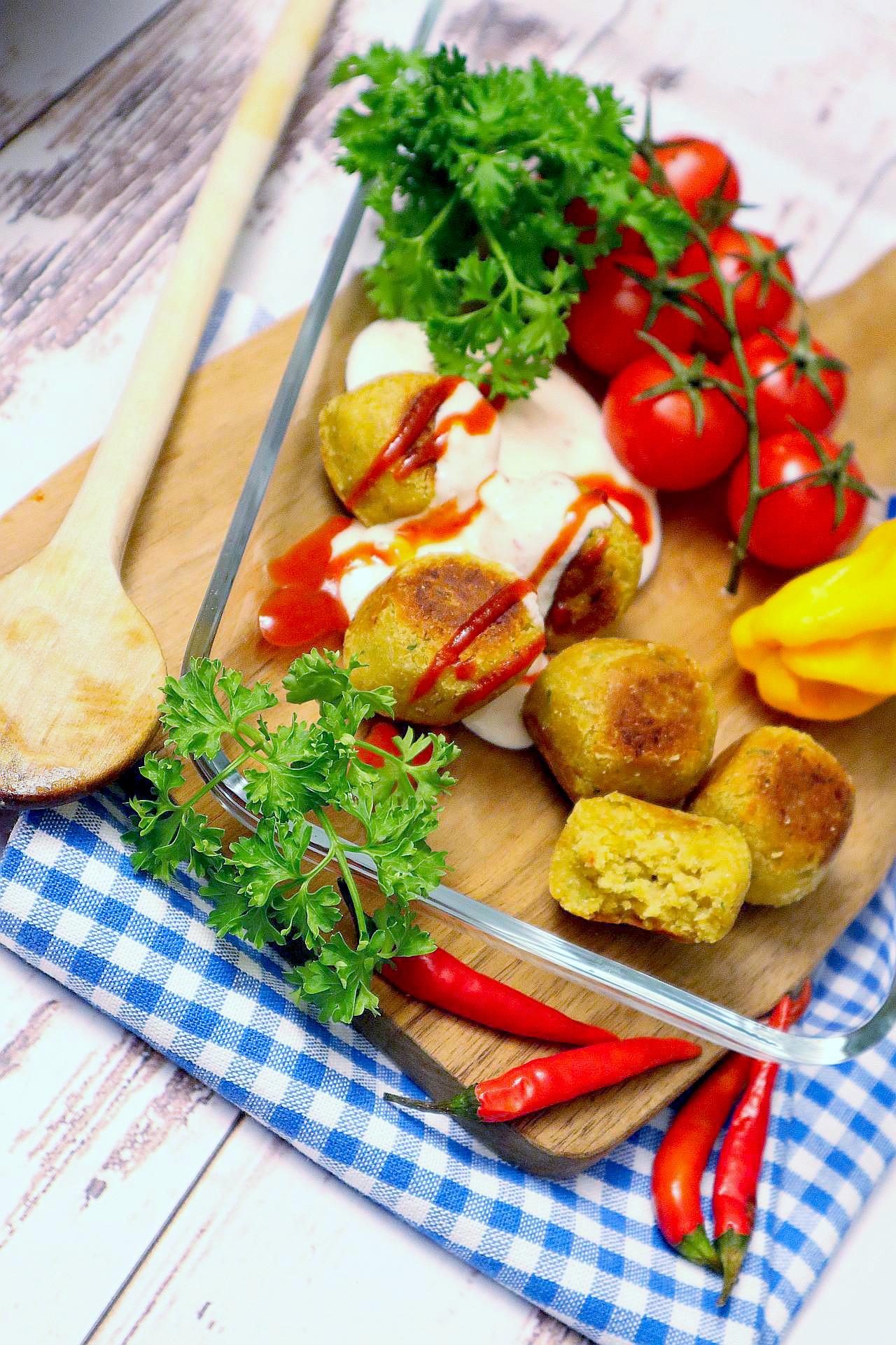 Zarte Falafel