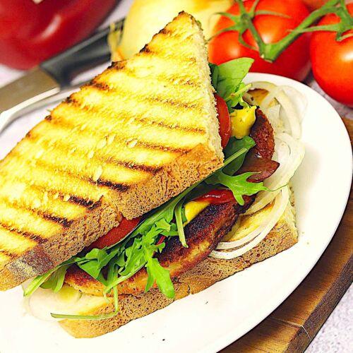 Schnitzel-Sandwiches