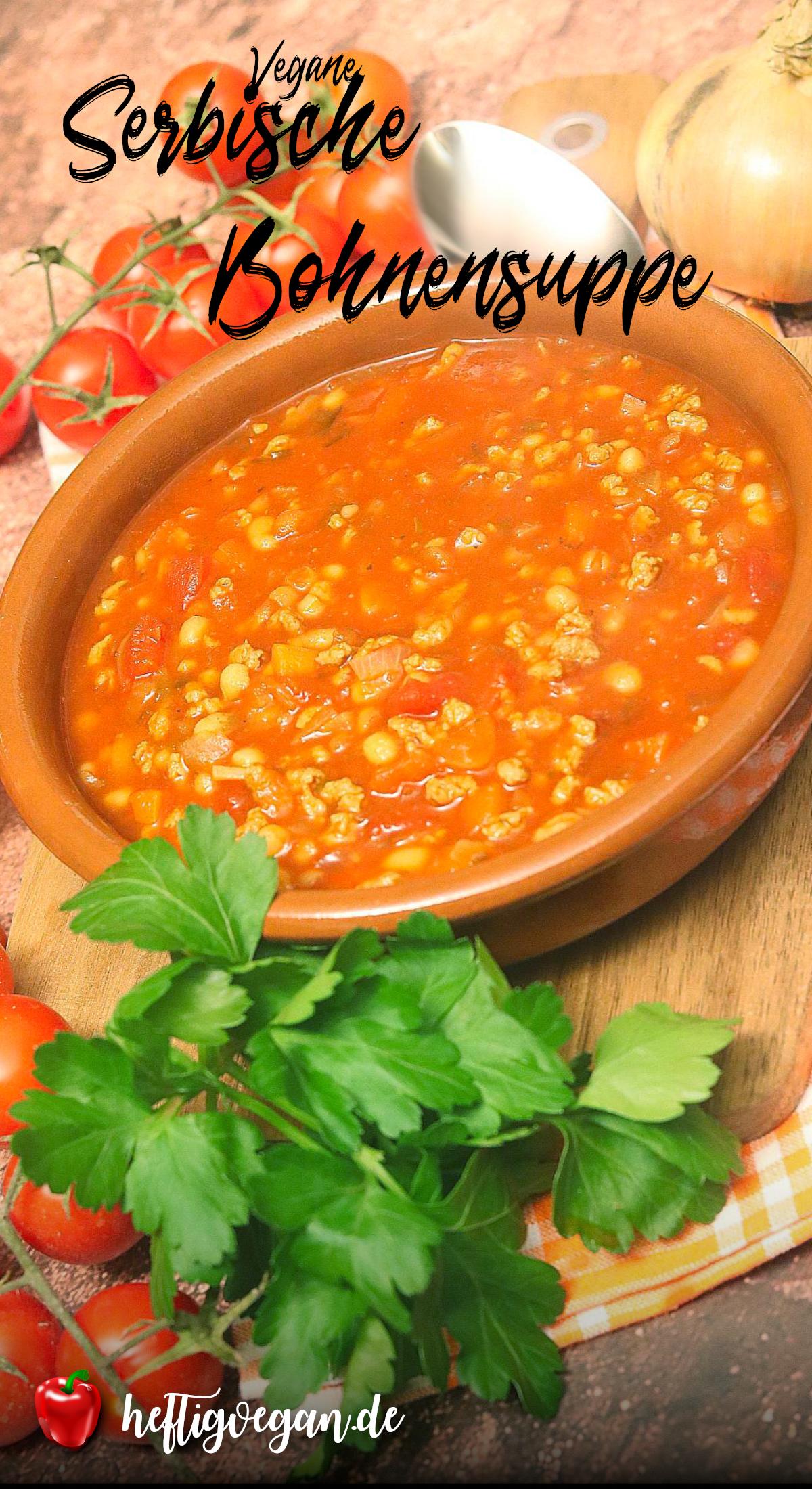 Serbische Bohnensuppe auf Pinterest