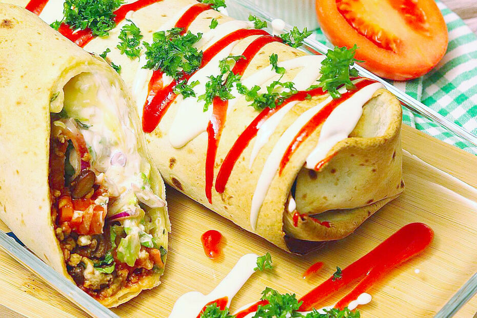 Vegane Chimichanga
