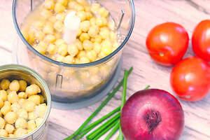 Zubereitung von veganen Frühstücksmuffins