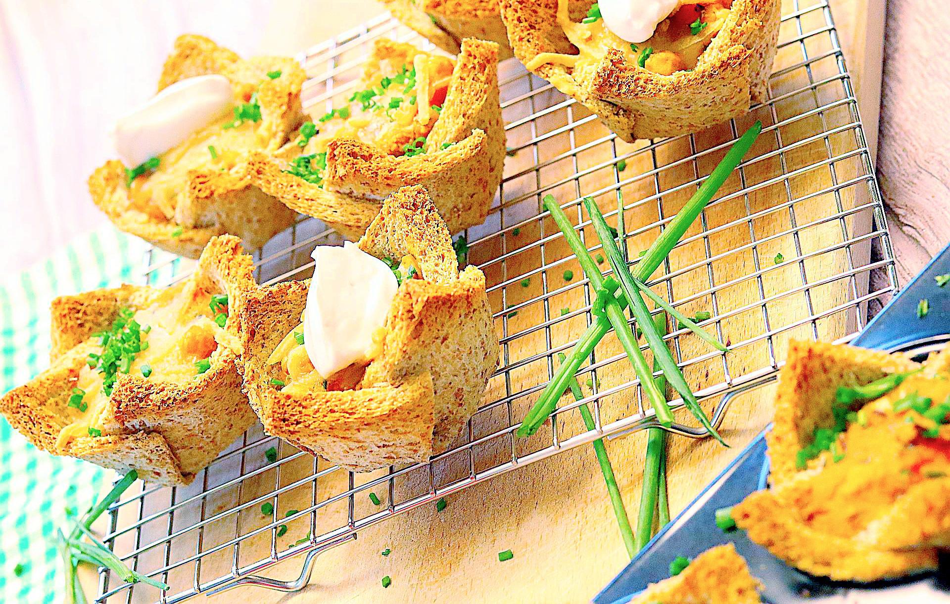 Vegane Frühstücksmuffins