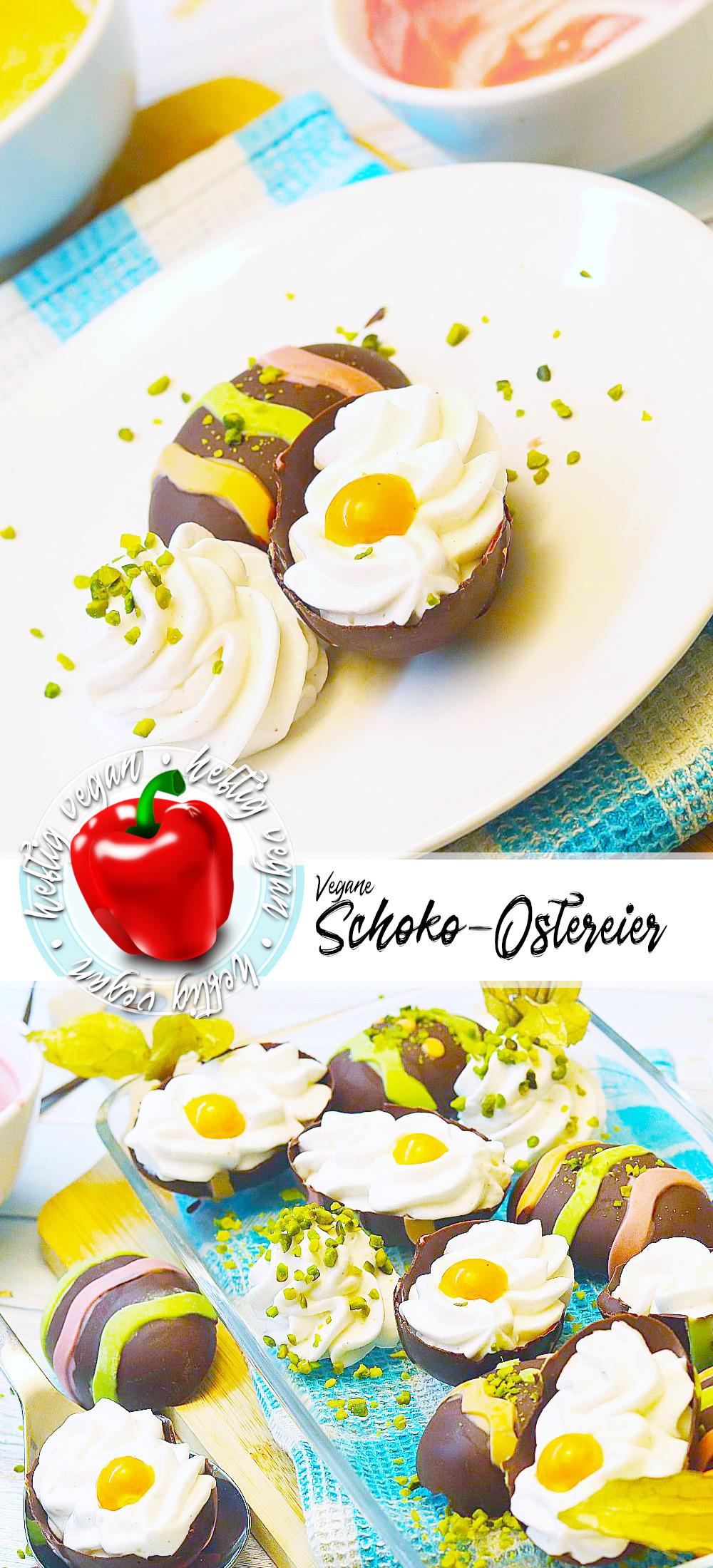 Schokoeier mit Vanillemousse (Pinterest)