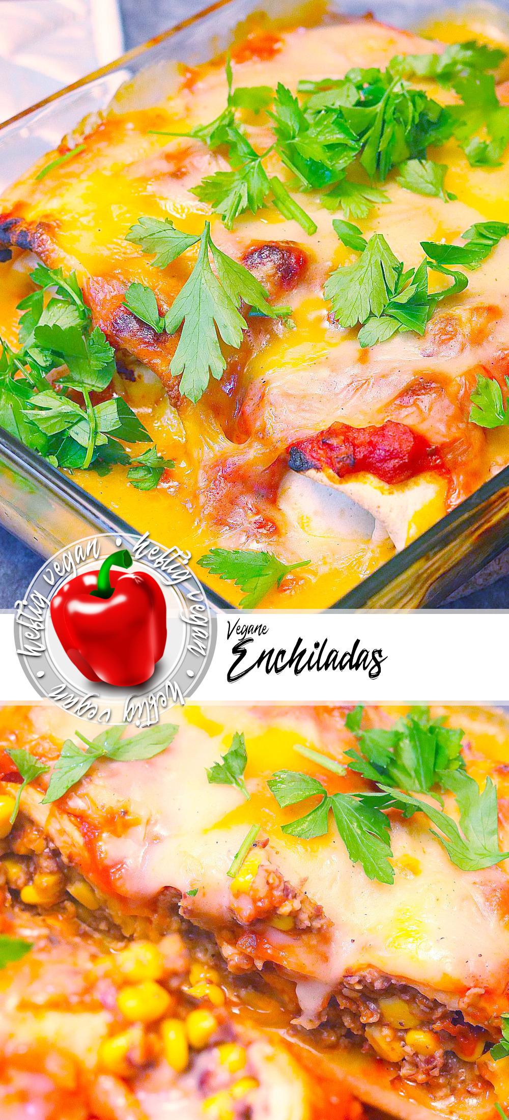 Vegane Enchiladas auf Pinterest