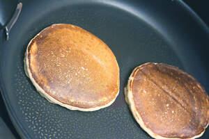 Zubereitung von American Pancakes (vegan)