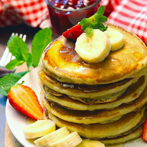 American Pancakes (vegan)