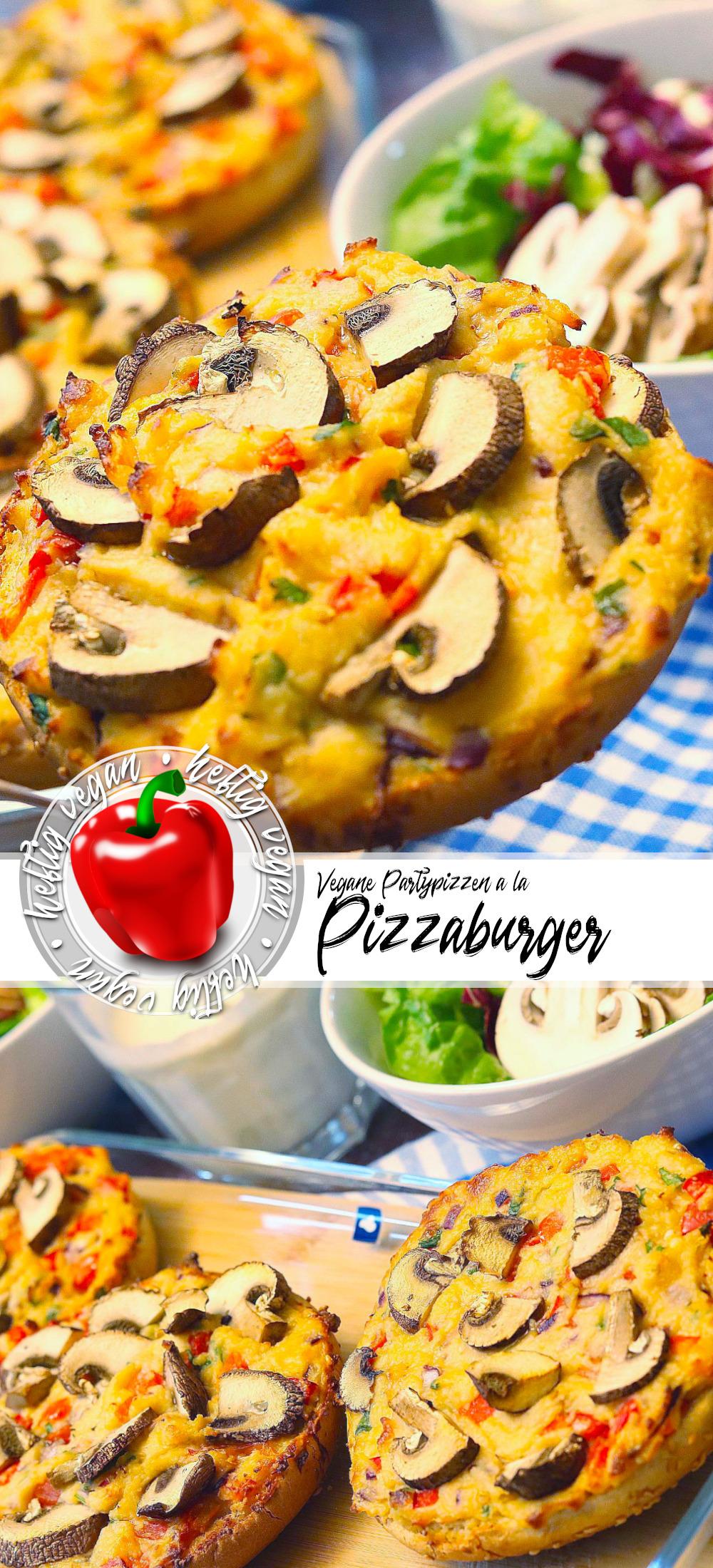 Pizzaburger oder Partypizzen (Pinterest)