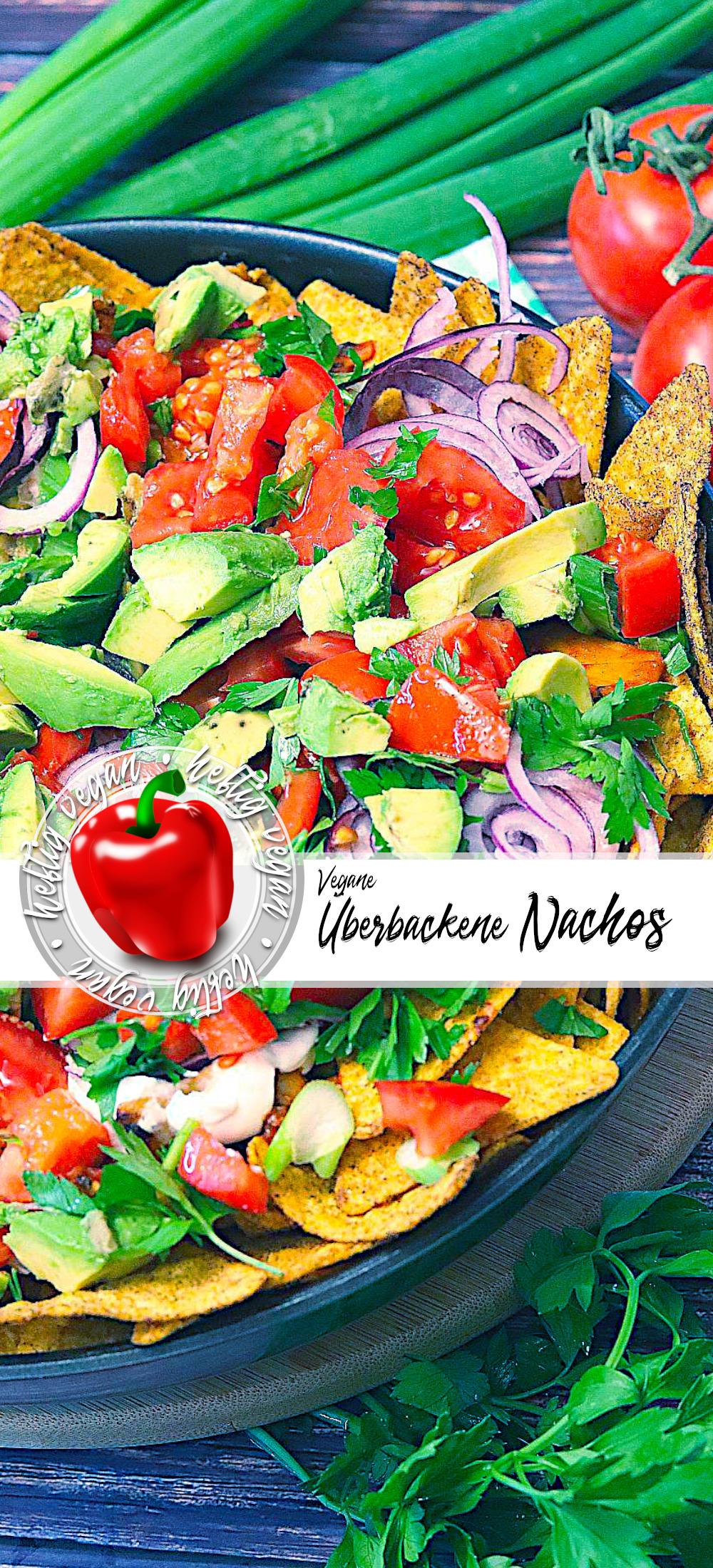 Überackene Nachos (vegan) auf Pinterest