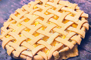 Zubereitung von veganem American Apple Pie