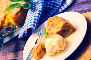 Veganer American Apple Pie