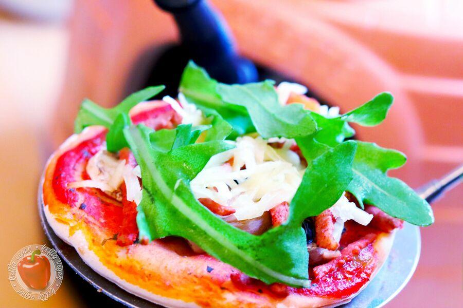 Vegane Pizzarette